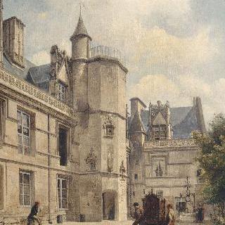 1850년 클뤼니 성 풍경