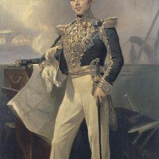 아르망 조제프 브뤼아 제독의 초상