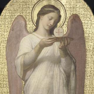 제물을 들고 있는 천사, 엘리제 궁 교회의 장식화