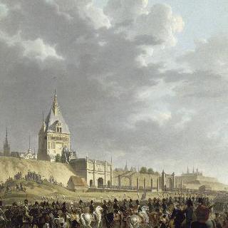 1807년 5월 27일, 단지크로 들어오는 나폴레옹 1세와 프랑스 군대