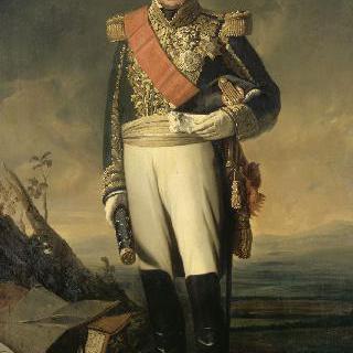 1843년 경의 장-밥티스트, 에를롱 백작, 1843년 경 프랑스의 중사