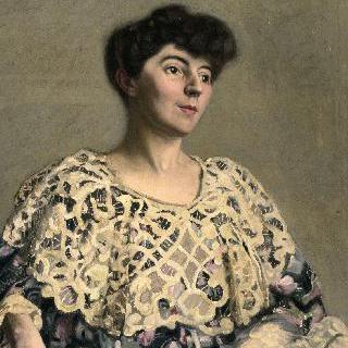 배우 마르트 멜로(1870-1947)의 초상, 알프레드 나탕송의 부인 이미지
