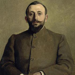 알프레드 나탕송이란 이름으로 활동하는 작가, 알프레드 아티스 (1873-1932)의 초상