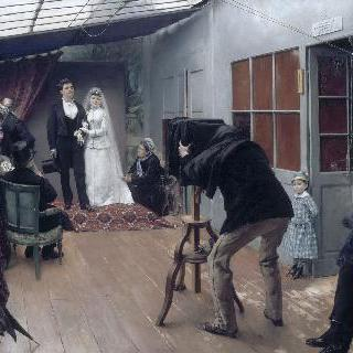 결혼 사진 촬영