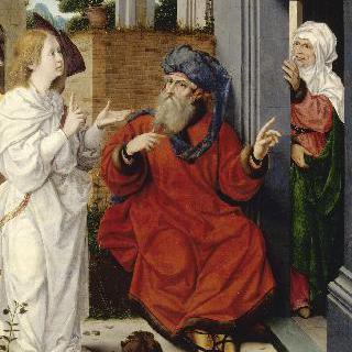 아브라함, 사라와 천사