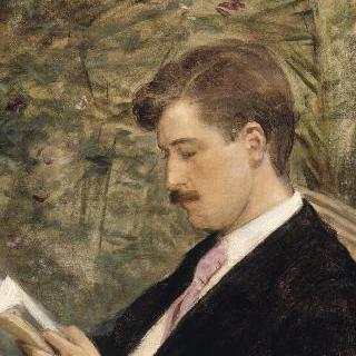 독서하는 조르주 페도