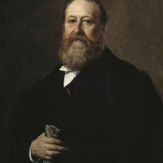 릴 미술관의 학예사, 에두아르 레나르의 초상