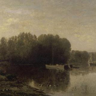 우아즈의 강 가