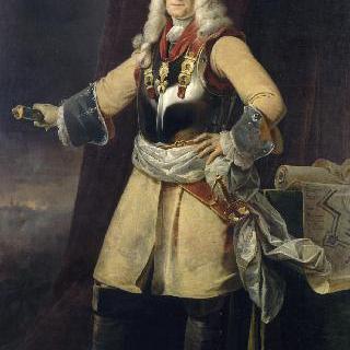 아스펠 후작, 프랑스 중사 클로드 프랑수아 비달