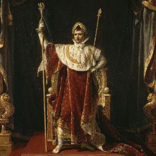 황제복장의 나폴레옹 1세