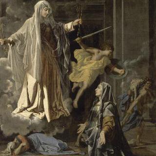 성녀 프란체스카 로마노의 환영