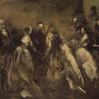1867년 튈르르의 연회