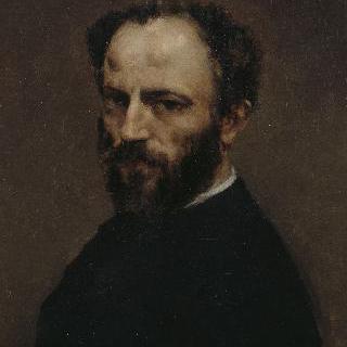 화가 아망 고티에의 초상 (1825-1894)