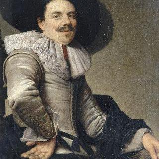 앉아있는 남자의 초상