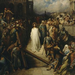 재판소를 떠나는 그리스도