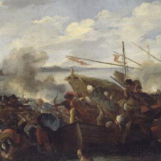 기독교 신자들과 사라센인들의 전투