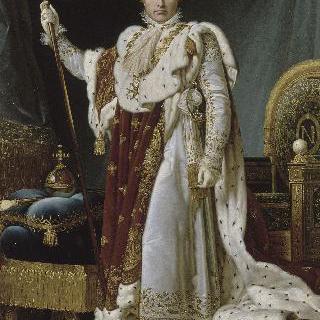 황제복을 입은 나폴레옹 1세의 초상