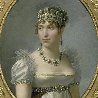 네덜란드 왕비 호르텐스의 초상