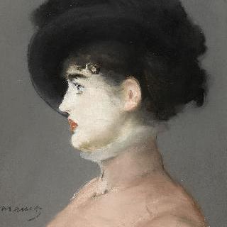 검정 모자를 쓴 여인, 비엔나의 여인 이르마 부르너의 초상