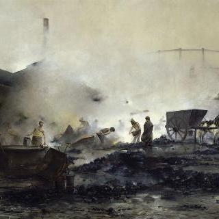 쿠르셀의 가스 공장