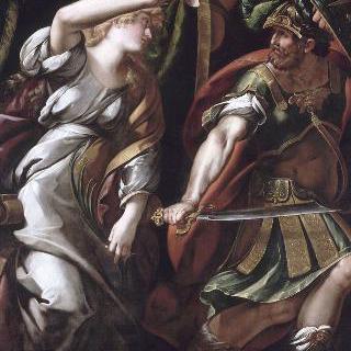 전쟁의 신을 쫓는 평화의 여신