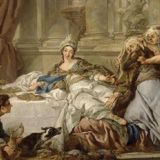 아담의 유죄판결 : 에스더 이야기의 타피스리의 밑그림