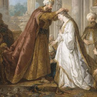 에스더의 왕관 : 타피스리의 밑그림