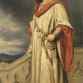 루이 1세 드 프랑스, 제 1 앙주 공작, 1382년 나폴리 왕, 1380년 왕국 섭정