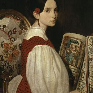 독서하는 레오폴딘