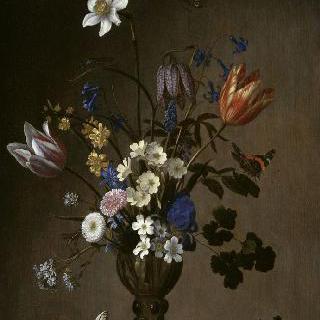 꽃 바구니와 조개 바구니