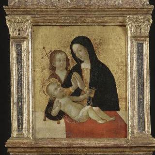 성 요한과 함께 있는 성모와 아기 예수