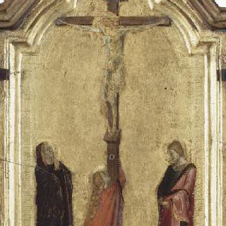 성모와 성 요한이 함께 있는 예수의 수난도