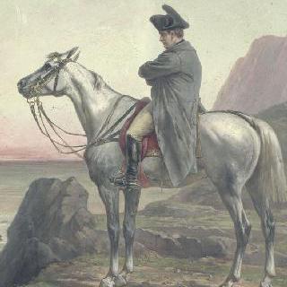 세인트 헬레나의 나폴레옹 1세의 기마 초상