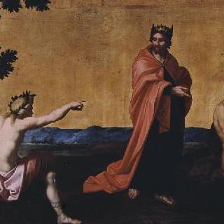 마이다스의 판결 (마이다스에게 당나귀 귀를 붙인 아폴론)