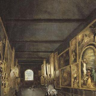 성 프란체스코 수도원 예배당 안 릴 박물관 내부 전경