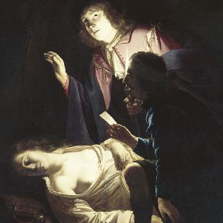 자살 장면 (루크레티우스의 죽음)
