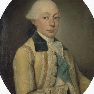루이 프랑수아 조제프 드 부르봉의 초상, 콩티의 마지막 왕자
