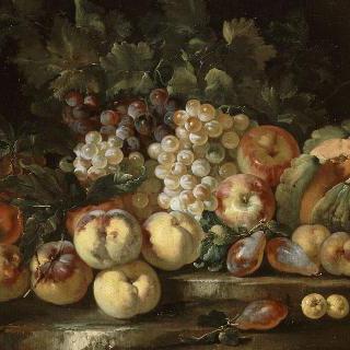 포도와 사과가 있는 정물