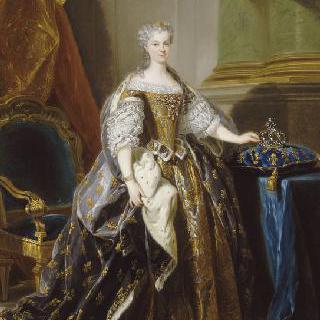 1725년 경 마리 레슈친스카 프랑스 왕비