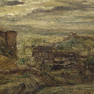 석양의 풍경