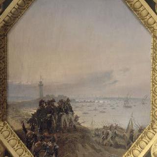1798년 7월 2일 알렉산드리아의 프랑스 군대의 상륙 작전
