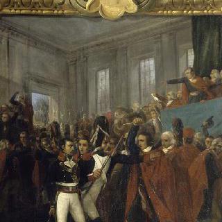 1799년 11월 9일 100인 회의의 보나파르트