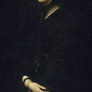 빅토르 모테 부인, 화가의 부인