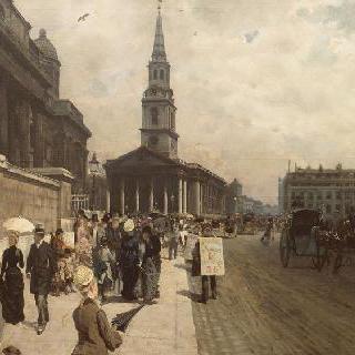 런던 국립 박물관과 성 마틴 교회