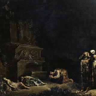 피람과 티스베의 죽음