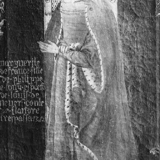 마르그리트 드 프랑스, 루이 드 느베르 플랑드르 백작의 부인