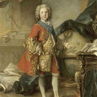 연구실의 루이 드 프랑스 왕태자, 루이 15세의 아들