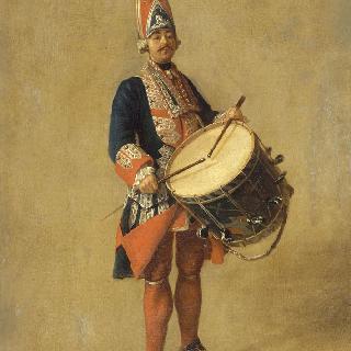 왕가 프랑스 근위대의 북소리