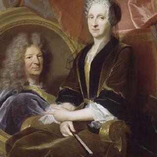 몽지노 부인과 남편의 초상