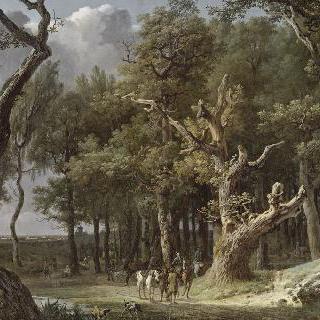 퐁텐블로 숲에서 바라본 전경